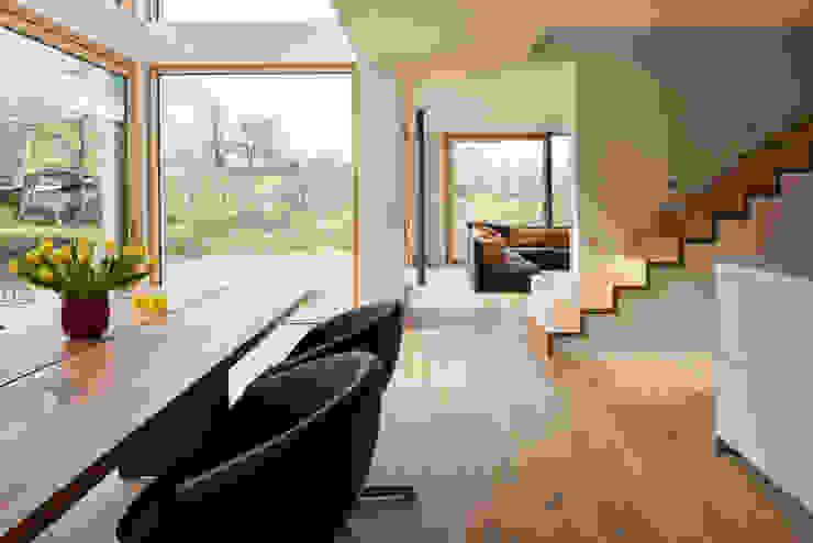 Modern living room by Parkett Leuthe GmbH Modern Wood Wood effect