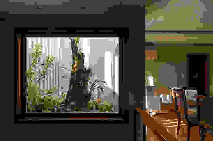 Jardines de invierno de estilo rústico de Kali Arquitetura Rústico