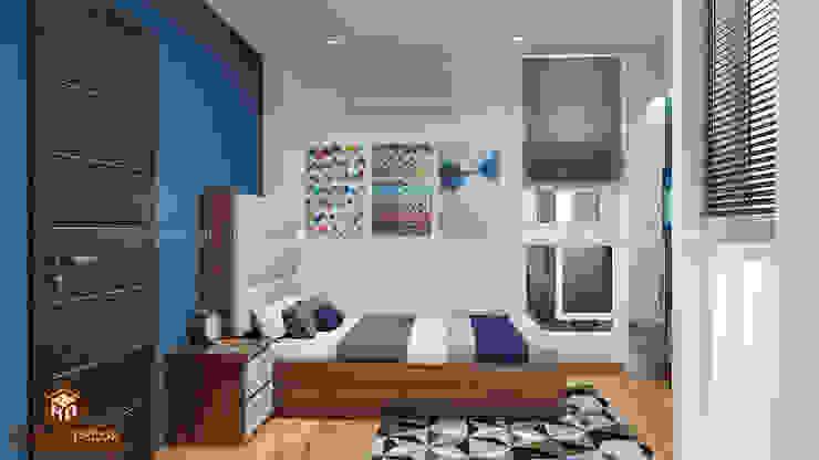 Nhà Chú Tuệ – Trần Phú bởi Công ty TNHH Tư vấn thiết kế My House Decor