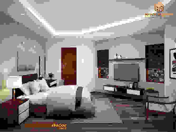 Nhà Anh Thắng – Chị Phương bởi Công ty TNHH Tư vấn thiết kế My House Decor