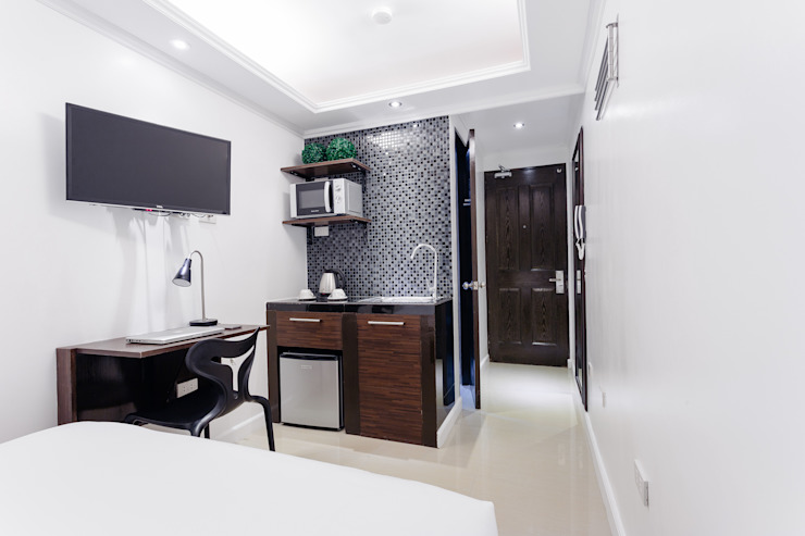 Nest Nano Suites Condo Hotel in Makati by SNS Lush Designs and Home Decor Consultancy Asian