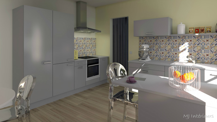 Classic style kitchen by MJ Intérieurs Classic