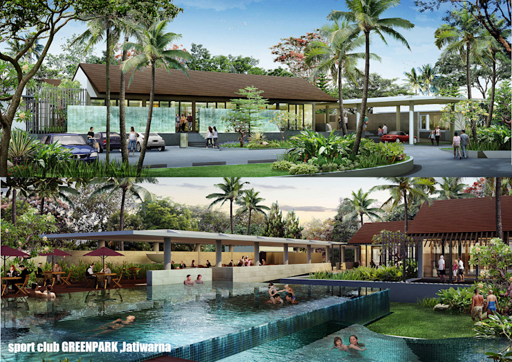 SPORT CLUB Oleh sony architect studio