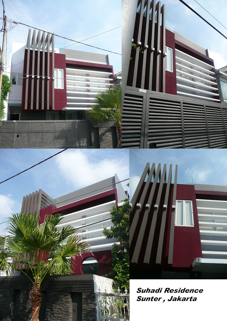 SUHADI SUNTER Oleh sony architect studio
