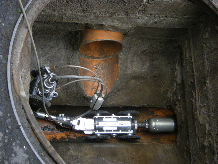 CCTV Drain Inspection by Plumber Centurion