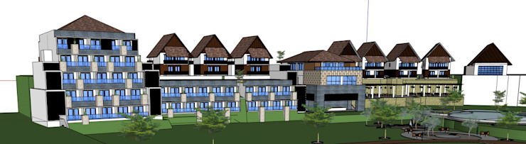 VILLA HOTEL Oleh sony architect studio