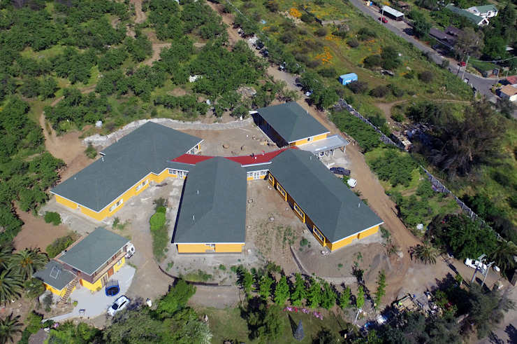Foto aérea general de Plan V Arquitectos Ltda Moderno