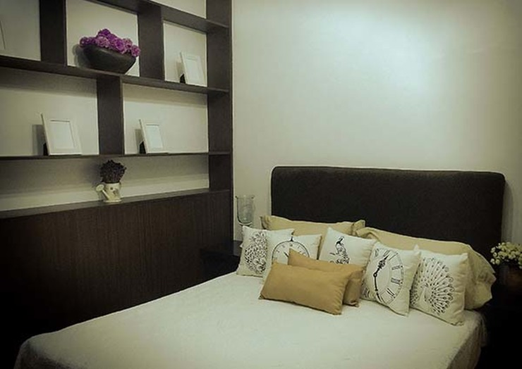 Aspire Tower in Quezon City – One Bedroom by SNS Lush Designs and Home Decor Consultancy