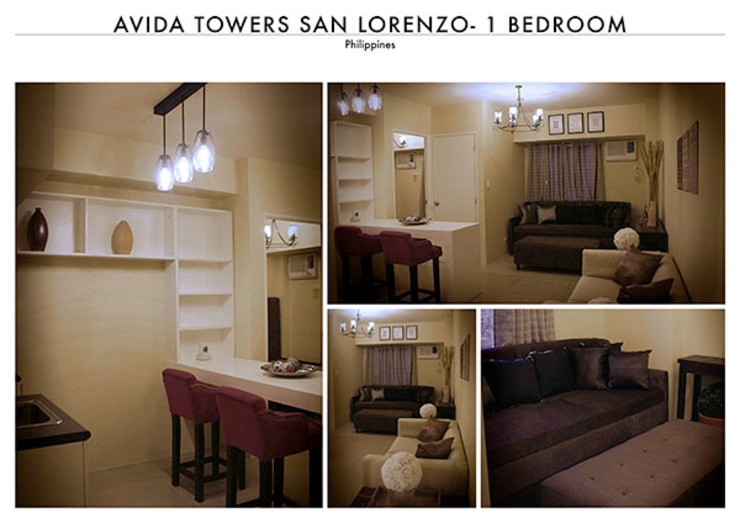 Avida San Lorenzo – One Bedroom by SNS Lush Designs and Home Decor Consultancy