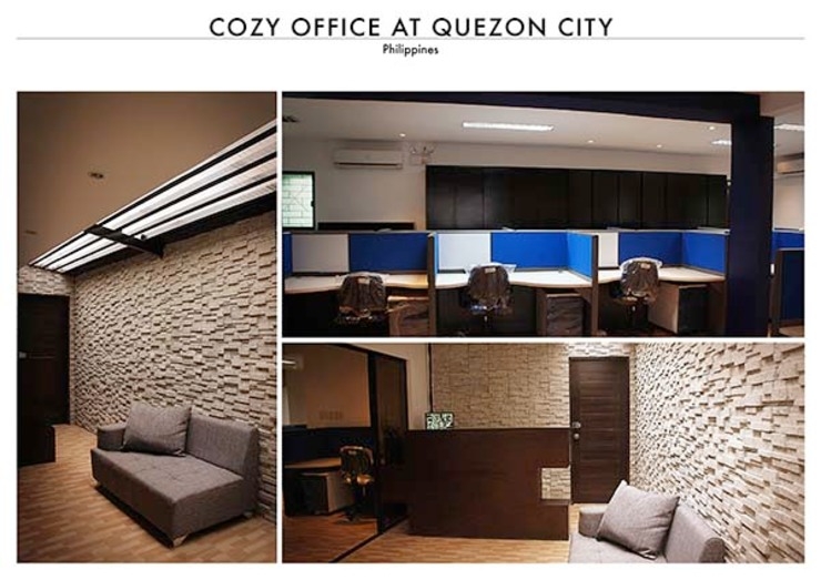 Office at Quezon City by SNS Lush Designs and Home Decor Consultancy
