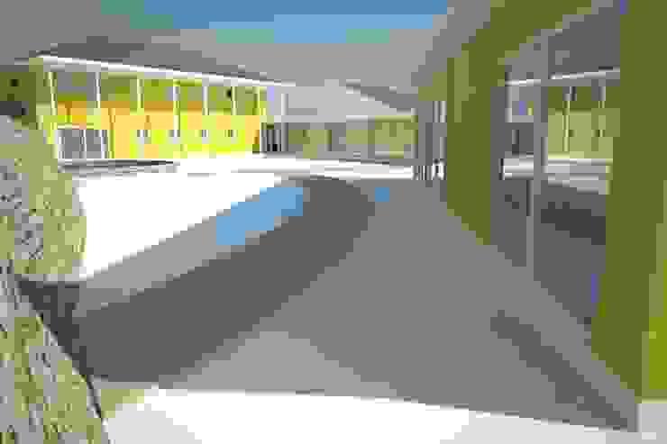 Modelo 3D vista exterior de Plan V Arquitectos Ltda Moderno