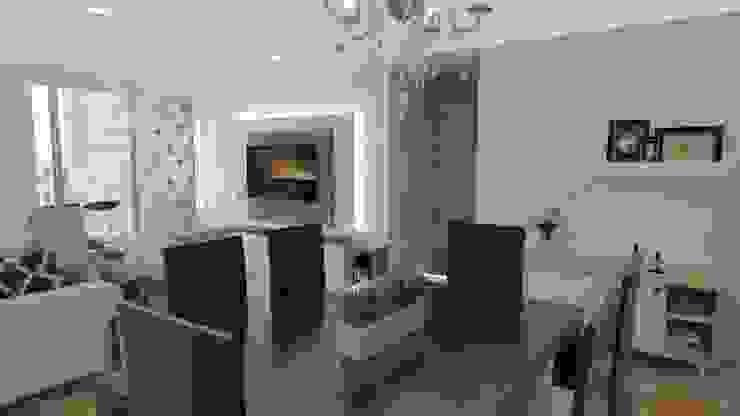 Sala comedor Comedores de estilo clásico de Naromi Design Clásico Madera Acabado en madera