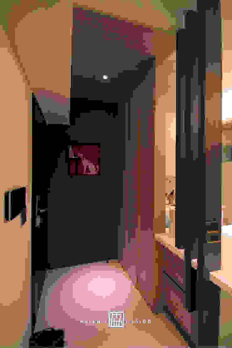新竹東區 陳公館 斯堪的納維亞風格的走廊,走廊和樓梯 根據 協億室內設計有限公司 北歐風