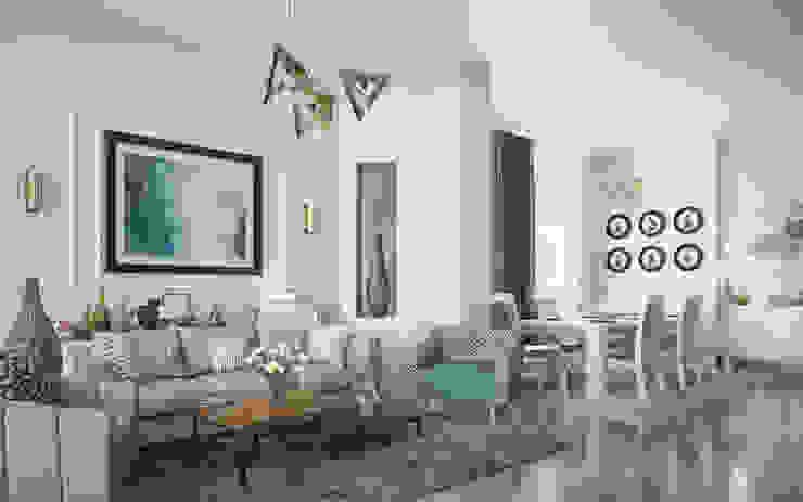 Private Apartment Klassische Wohnzimmer von H9 Design Klassisch
