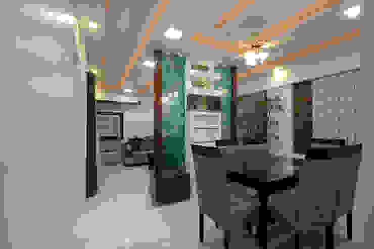 Residence - Mr. Mane, Pune. 根據 Spaceefixs 現代風