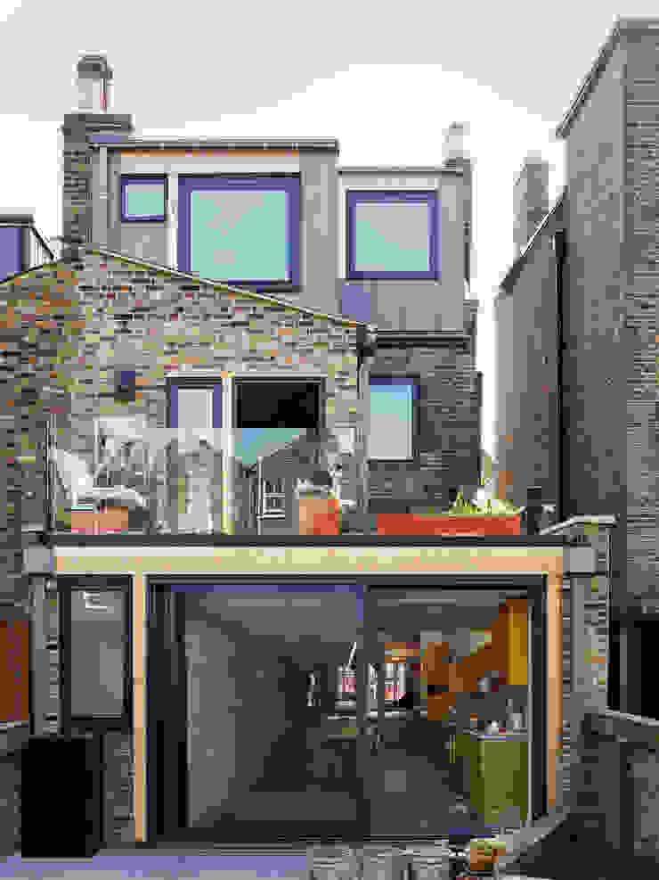 Rear facade Draisci Studio Casas adosadas