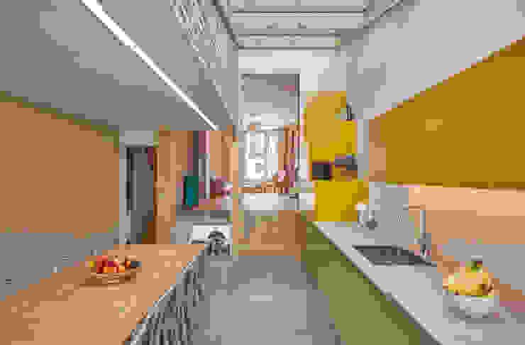 kitchen Draisci Studio Cocinas de estilo moderno