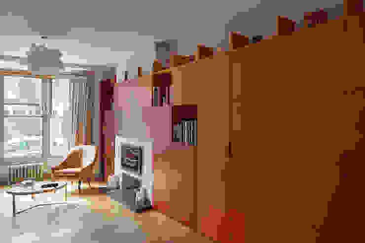 living room Draisci Studio Salones de estilo moderno
