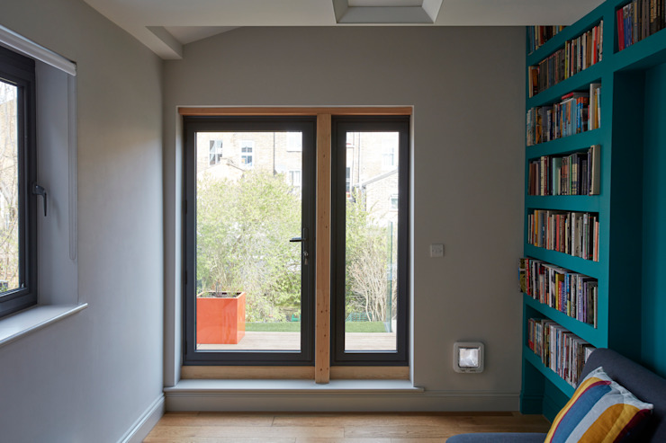 Study / guest room Draisci Studio Modern study/office