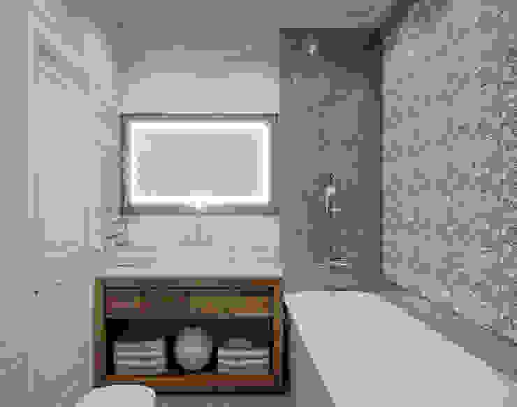 Квартира в ЖК Лобачевский Ванная в классическом стиле от MonDesign Классический