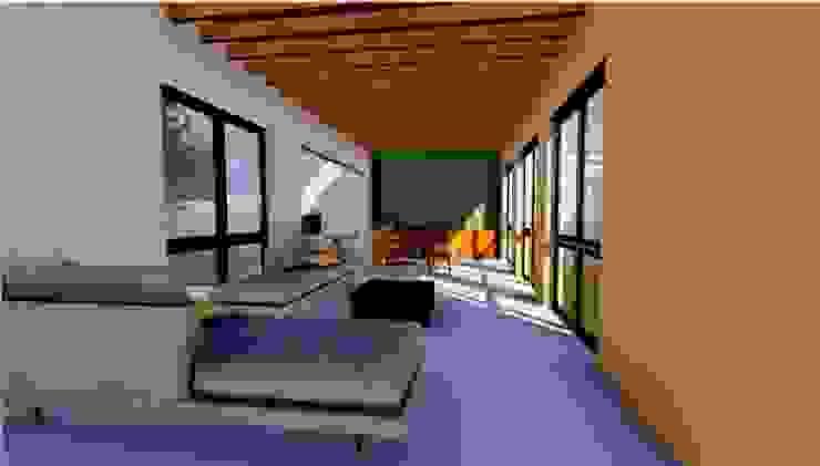 living space by Habitat Design Collective (Hdeco) Minimalist