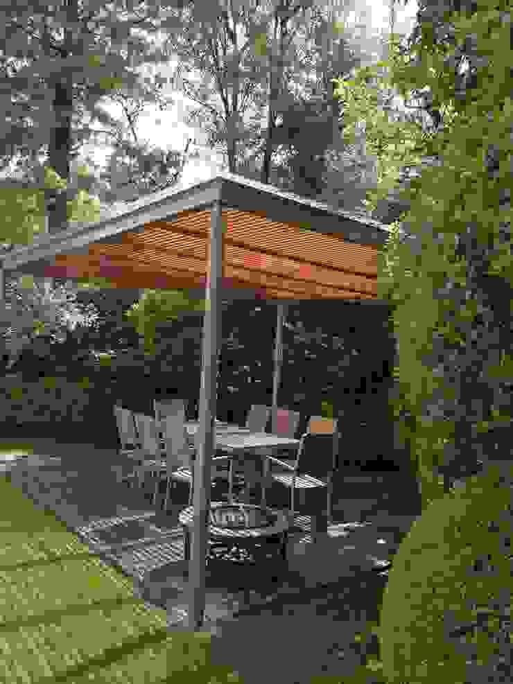 Jardines de invierno de estilo moderno de Materia Viva S.A. de C.V. Moderno