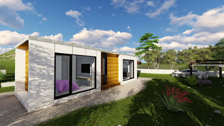 現代房屋設計點子、靈感 & 圖片 根據 A-kotar 現代風