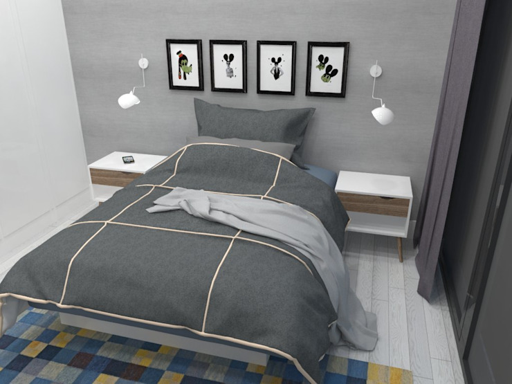 Modern Bedroom by A-kotar Modern
