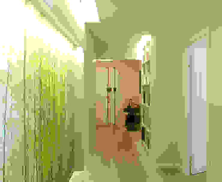 Mediterranean style corridor, hallway and stairs by VITAE STUDIO - architettura Mediterranean