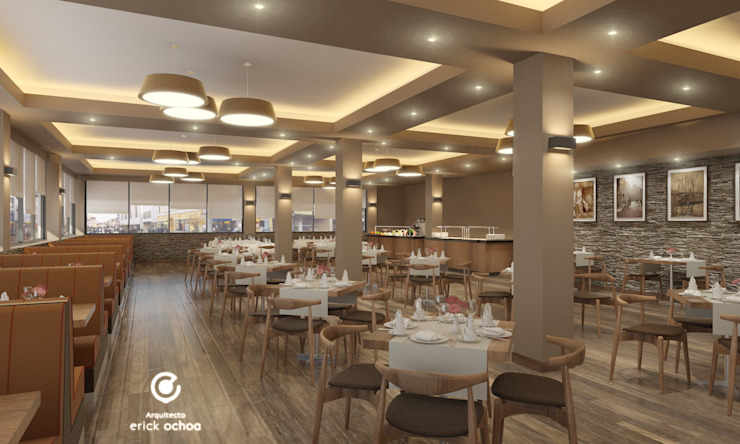 Phòng ăn phong cách thực dân bởi ARQ. ERICK OCHOA Thực dân