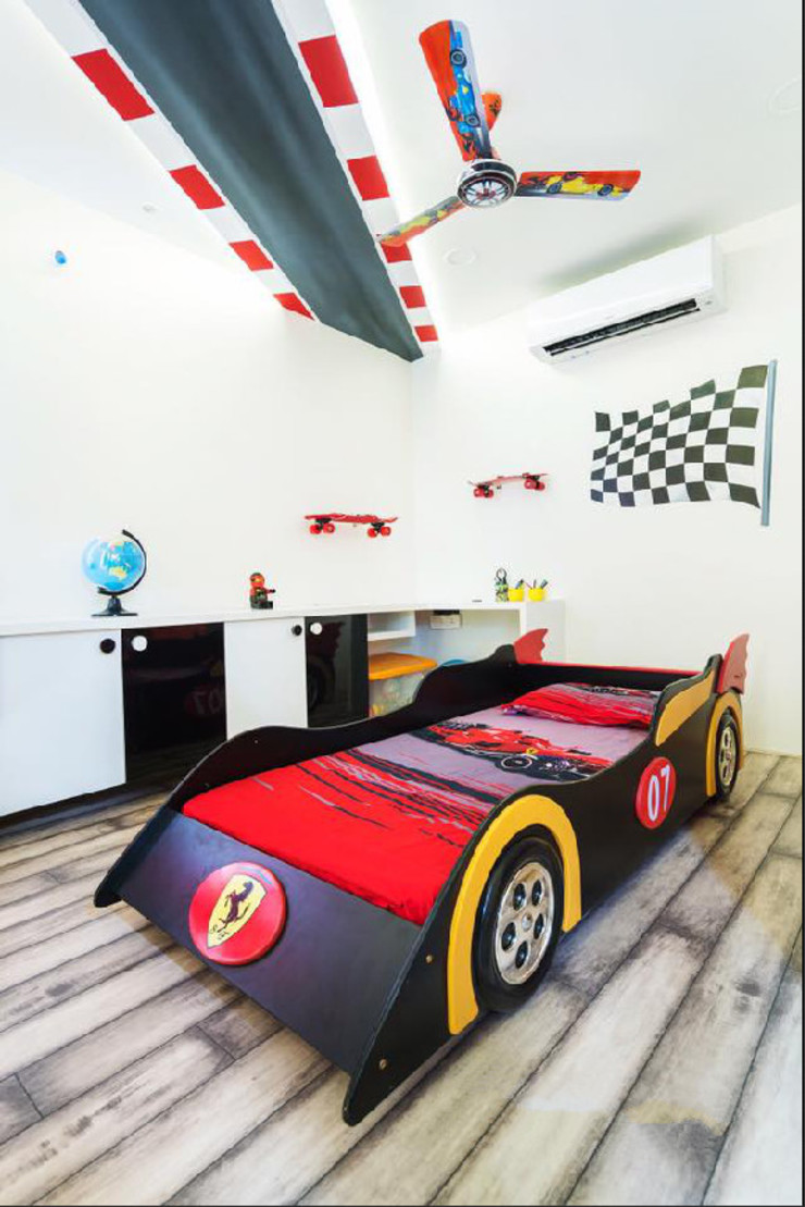 Kids room interiors by Rhythm And Emphasis Design Studio