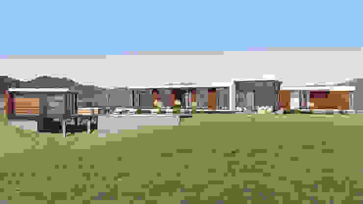 Vivienda Las Animas de Uno Arquitectura Rural Derivados de madera Transparente