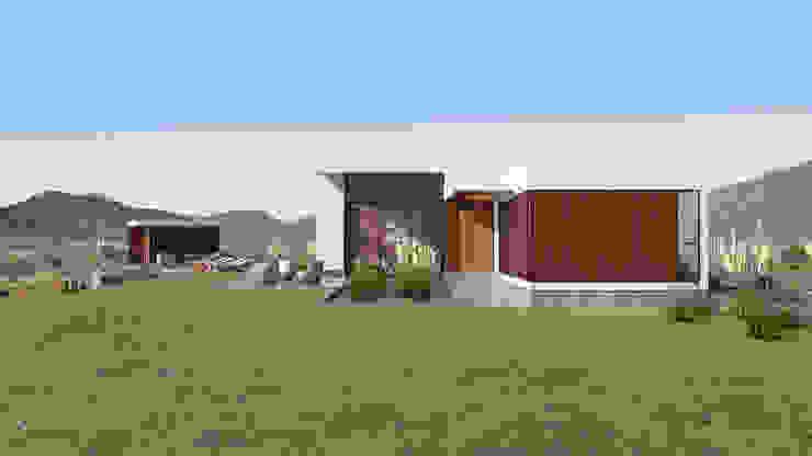 Vivienda Las Animas de Uno Arquitectura Rural Compuestos de madera y plástico