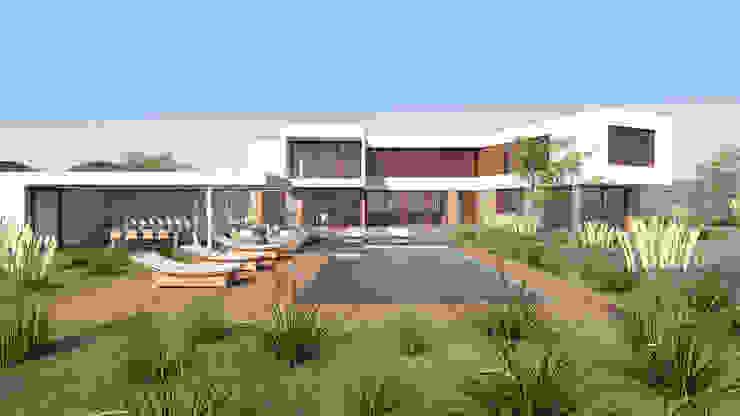 by Uno Arquitectura Mediterranean Concrete