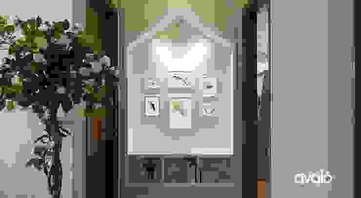Pasillos, vestíbulos y escaleras de estilo moderno de Công ty cổ phần NỘI THẤT AVALO Moderno
