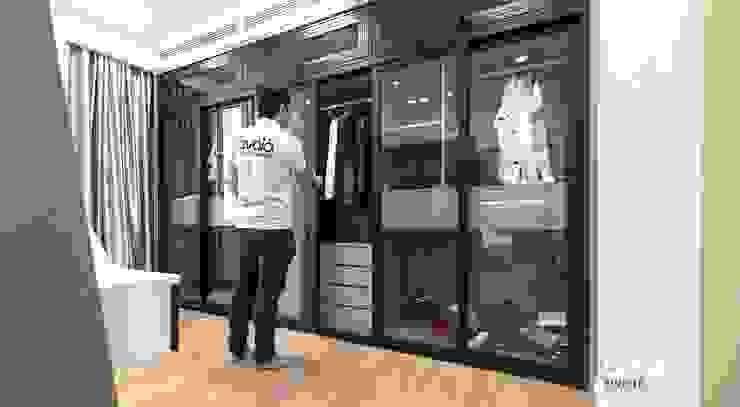 Vestidores de estilo moderno de Công ty cổ phần NỘI THẤT AVALO Moderno