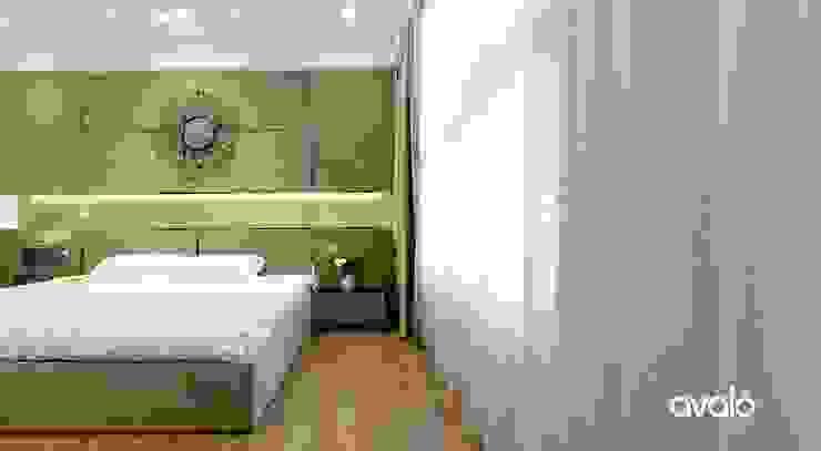 Habitaciones modernas de Công ty cổ phần NỘI THẤT AVALO Moderno