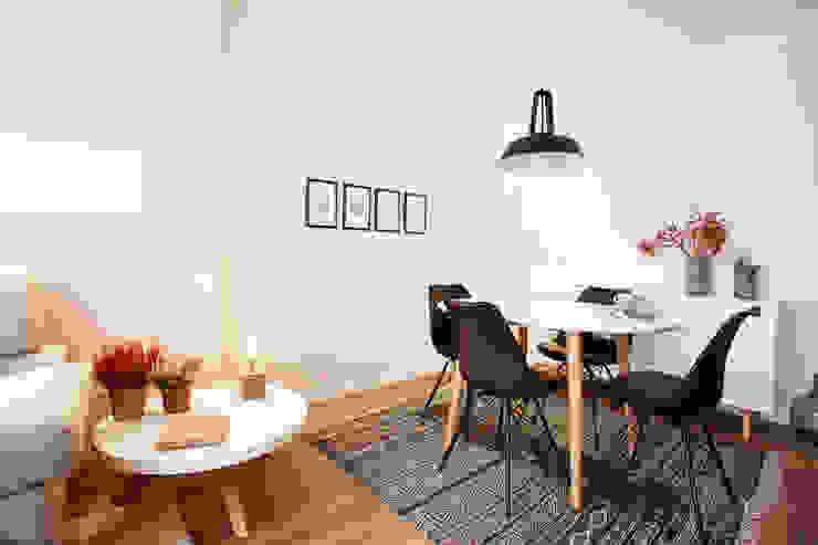 Phòng ăn phong cách Bắc Âu bởi Laia Ubia Studio Bắc Âu