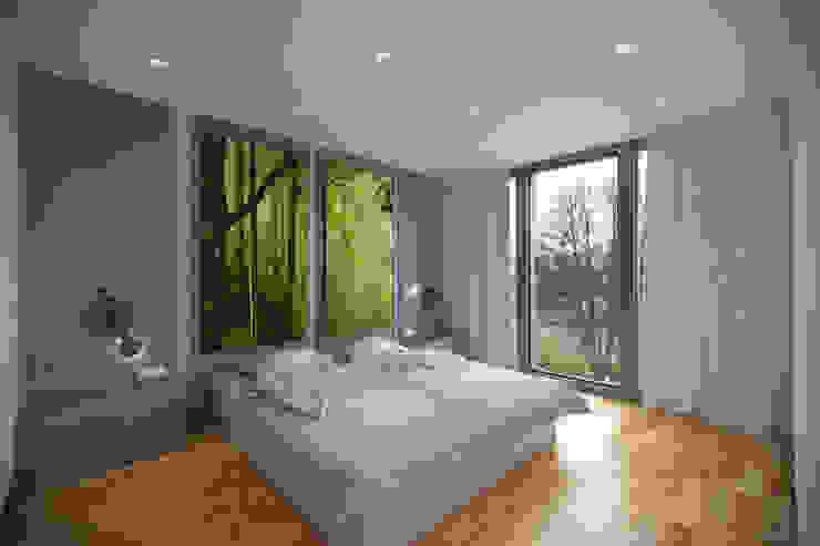 Kemerburgaz LIVERA Suites – Örnek Daire Tasarımı İskandinav Yatak Odası Kolon Mimarlık - İçmimarlık İskandinav