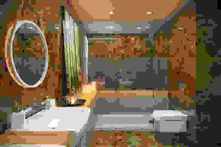 Kemerburgaz LIVERA Suites – Örnek Daire Tasarımı İskandinav Banyo Kolon Mimarlık - İçmimarlık İskandinav