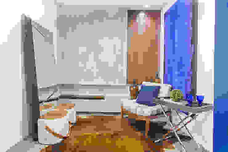 Sgabello Interiores Office spaces & stores Concrete Brown