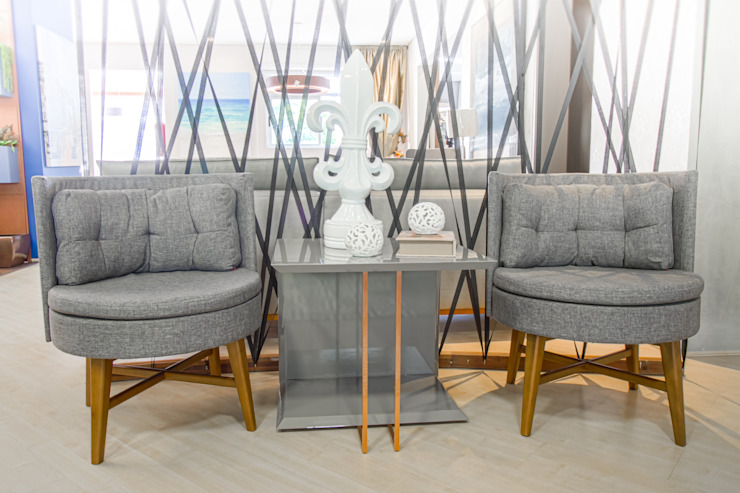Sgabello Interiores Living roomStools & chairs Flax/Linen Grey