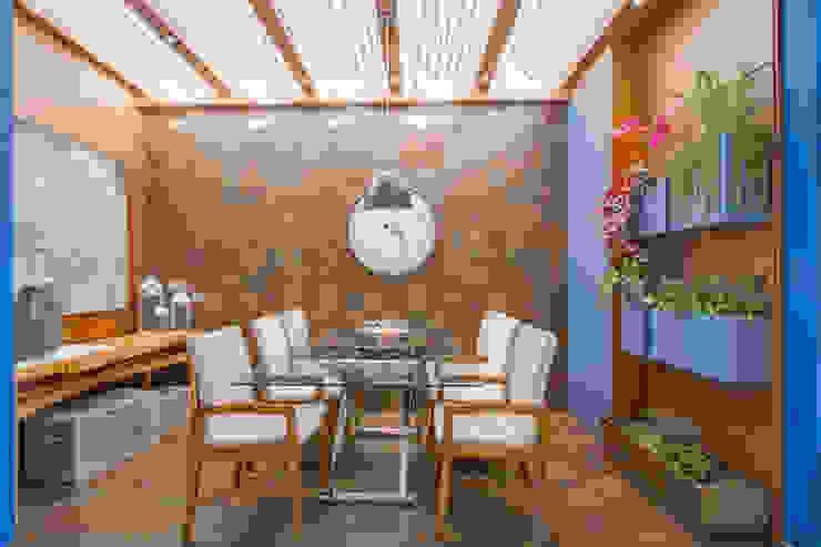 Sgabello Interiores Balconies, verandas & terraces Furniture Wood Wood effect