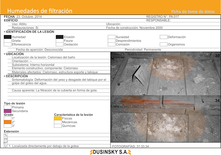FICHA DE DATOS III de DUSINSKY S.A.