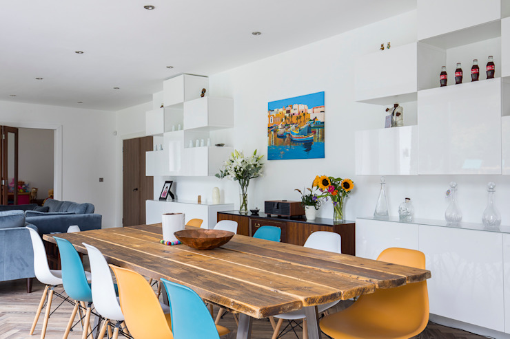 Whole House Renovation, Cheam, Surrey Modern dining room by Model Projects Ltd Modern