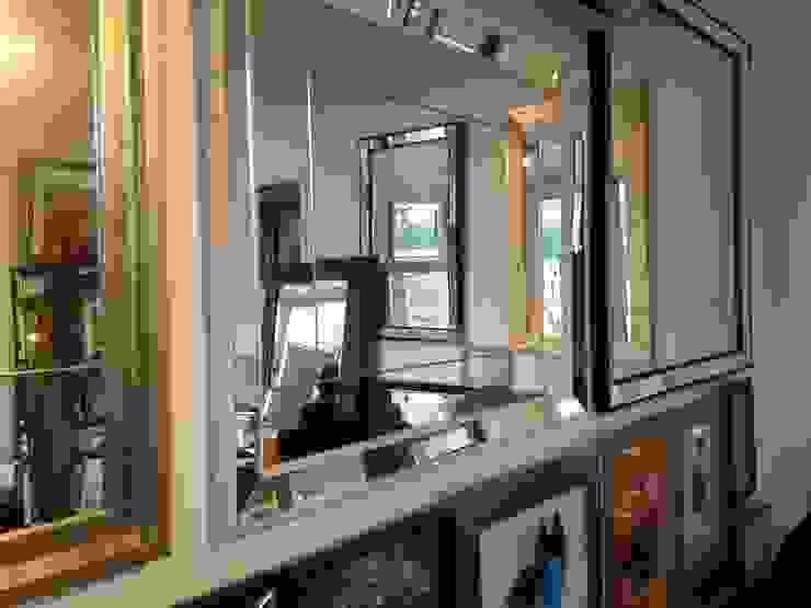 Espejos Decorativos de Inter-Deco Moderno Madera Acabado en madera