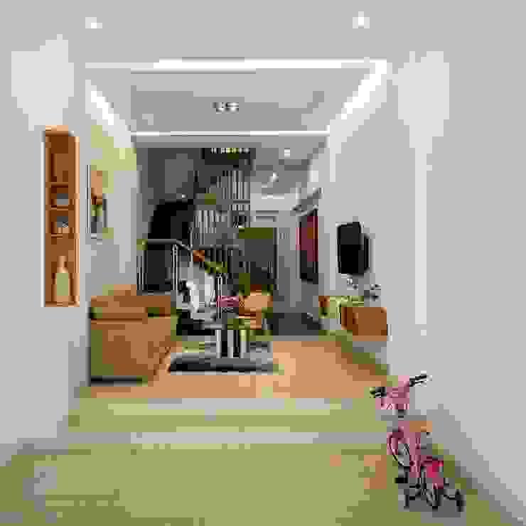 Salones de estilo  de Công ty TNHH Xây Dựng TM – DV Song Phát, Moderno