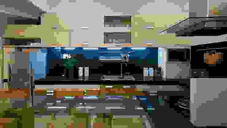 Phòng bếp bởi Công ty TNHH Xây Dựng TM – DV Song Phát Hiện đại