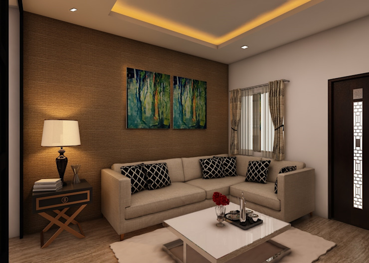 Living Room Classic style living room by homify Classic