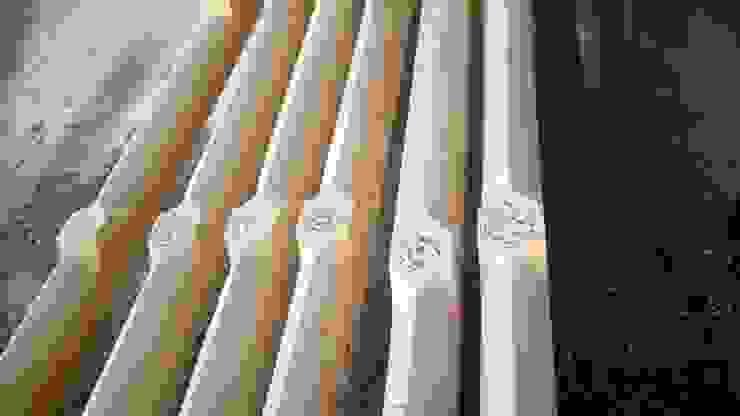 Gotische Balkenlage Klassische Wohnzimmer von Thisalo GmbH Klassisch Holz Holznachbildung